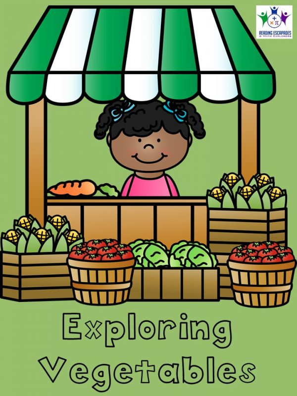 Exploring Vegetables cover