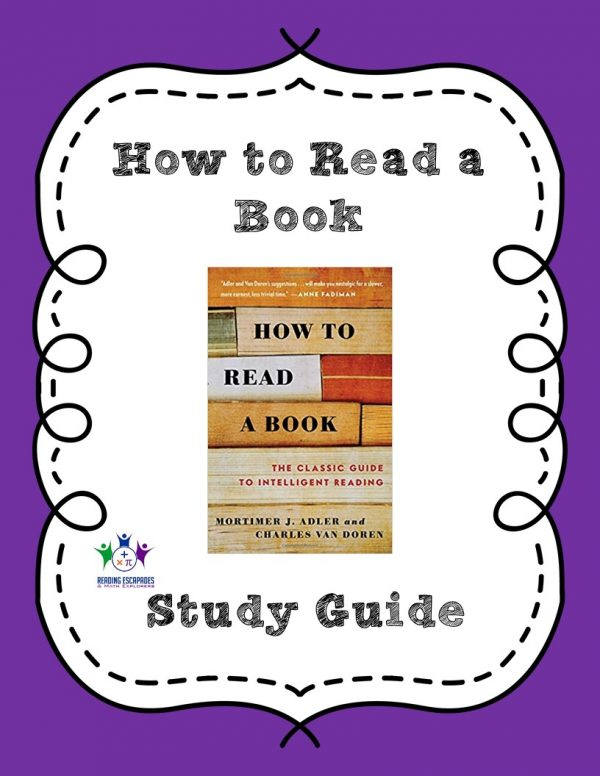 How to Read a Book Study Guide